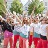 Tanzgruppe in Lüneburg